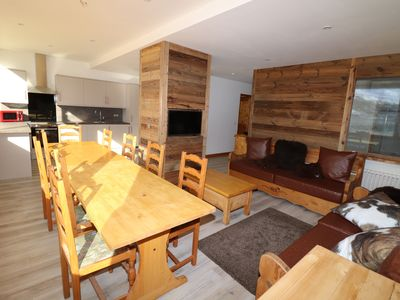 Photo for Central Tignes, Fabulous Location, Stunning Views, 4 Bedroom Apartment