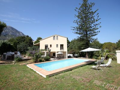 Photo for BEAUTIFUL COUNTRY HOUSE BETWEEN SEA AND MOUNTAIN 1. 5km. FROM THE BEACH OF LAS ROTAS