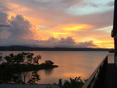 Photo for Magnificient Lakefront Property located on the Bay of Lake Arenal