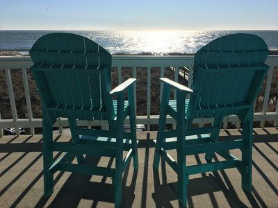 The beach is calling....these front row seats are reserved for you.