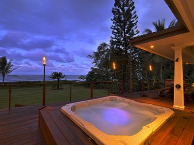 Photo for Beachfront Elegance on Kauai's Famous Coconut Coast