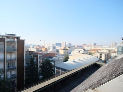 Photo for Three-room penthouse with elevator 400 meters from the Villa San Giovanni metro