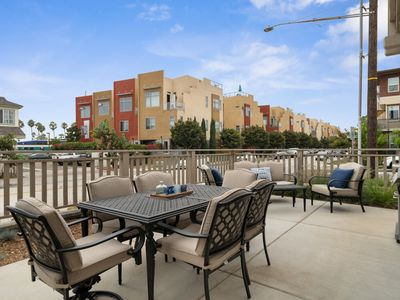 Photo for Pristine getaway w/ large patio & grill - close to everything!