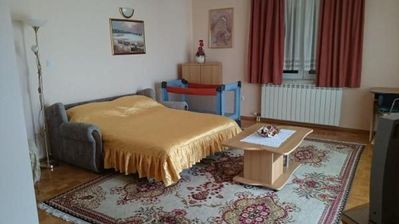 Photo for Apartment in the center of Sveti Filip i Jakov with Internet, Air conditioning, Parking, Balcony (990963)