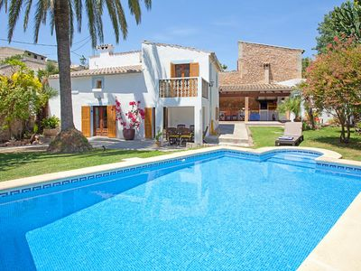 Photo for Charming village house in Pollensa with good-sized garden, and swimming pool
