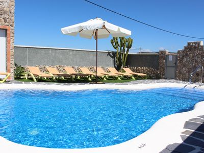 Photo for 2 storey holiday home with shared pool
