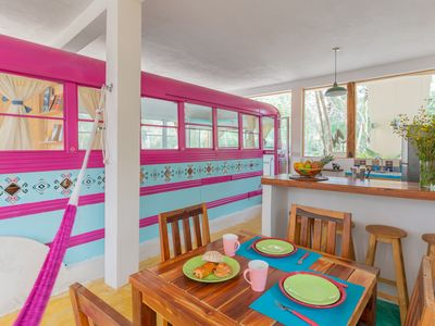 Photo for Ecological and original house in Tulum jungle