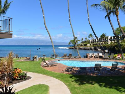 Photo for Newly Remodeled-Oceanfront 2 Br /2 Bath Ground Floor Unit  #106