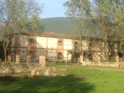 Photo for Finca 3 fenced hectares, with two-storey house with stables and dressage track