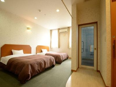 Photo for Twin Westernstyle room with color bath hot spring / Iyo-gun Ehime