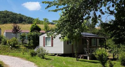Photo for Camping l'Eau Vive **** - Mobile home Comfort 3 Rooms 4/5 loggia People