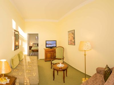 Photo for SuperiorPlus Double Room - Hotel Merkur only 100 meters to the beach - WE6643