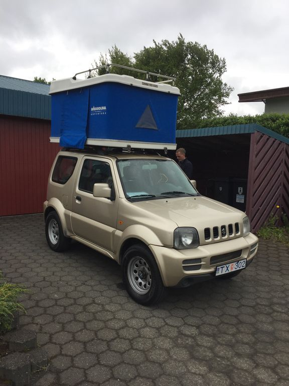 4x4 Camper Jimny Manual Rooftoptent A Homeaway