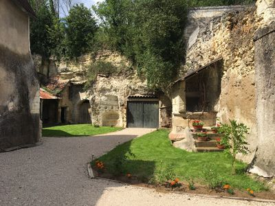 Photo for 16th century house with private courtyard between Beauval zoo and Chenonceaux