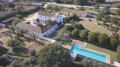 Photo for Hacienda Vejer - Luxury Andalucian Hacienda with 15 m pool for 12 pax