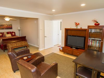 Photo for Close-in Carmel 2 Bedroom Guest House With Private Patio & Water Fountain