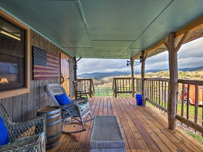 Photo for NEW! Marshall Cabin on 25 Acre Farm & Vineyard!