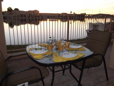Photo for Sept/Oct/ Nov/Dec LAKEFRONT Villa with amazing lake views $2000/month furnished