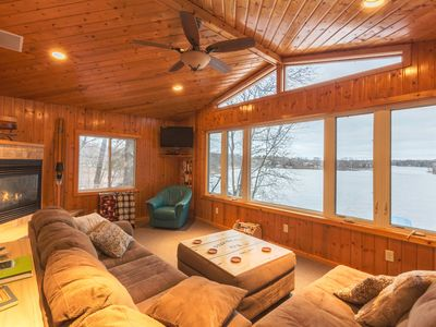 Photo for On Upper Gull!  Close to Fritz Loven , snowmobile trails and Bar Harbor!
