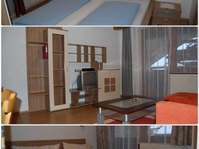 Photo for Top 10 Apartment / 2 bedrooms / shower, WC - Gästehaus Edelweiss