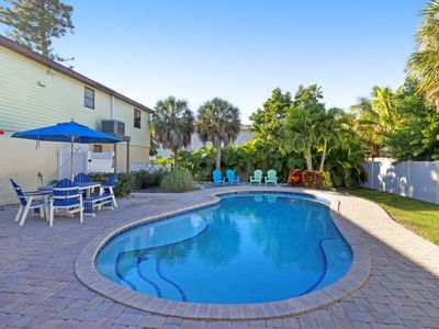 Photo for Newly renovated home w/ private heated pool and streaming services.