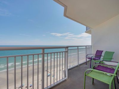 Photo for Awesome Oceanfront Condo in BayWatch Resort - Great views & Amenities