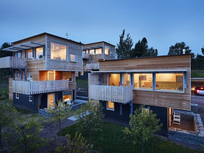 Photo for The Aurora, a stunning new organic contemporary with a full view of the harbor.