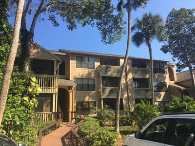 Photo for Gated luxury Condo, spa pool... one bedroom condo close to all; but worlds away