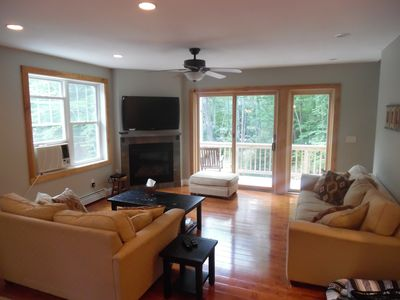 Wooded retreat - close to North Conway village, restaurants & activities
