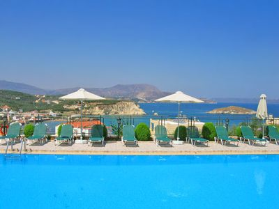 Photo for Pegasos Maisonette, a sea view 2-bedroom apartment 350 meters from sandy beach