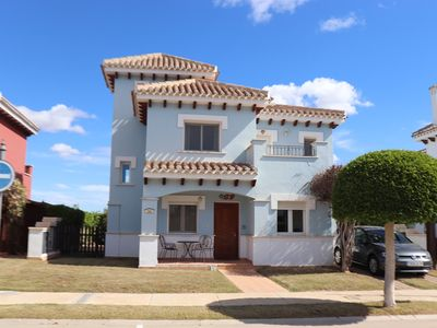 Photo for Fabulous Detached Villa With Private Heated Pool and Open views to Front & Rear