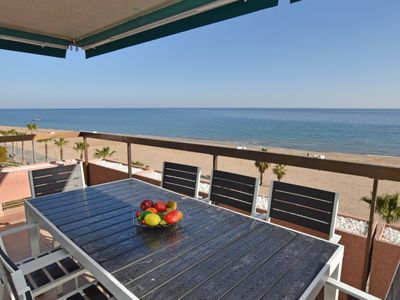 Photo for Torredembarra Apartment, Sleeps 8 with Pool and Free WiFi