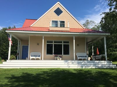 Photo for Backshore Beach House Spacious 4 Bedroom/2 Bathroom With Views Of Penobscot Bay