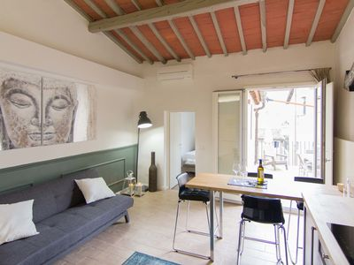 Photo for Stunning flat w/big Terrace near Duomo