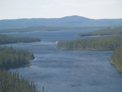 Photo for Privately owned lake with 88 miles of shoreline, 4 rivers, self contained camp.