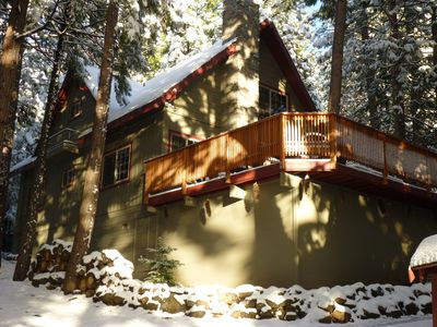 Photo for PEACEFUL MOUNTAIN CABIN GETAWAY NEAR PINECREST & DODGE. WIFI & 2 SATELLITE TV'S.