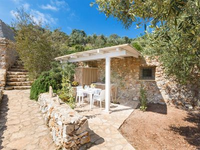 Photo for 879 Trullo with pool and Seaview