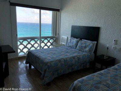Photo for Nice apartment with an unmatched Front Sea View