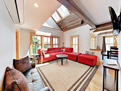 Living Area - Welcome to Boothbay Harbor! This home is professionally managed by TurnKey Vacation Rentals.