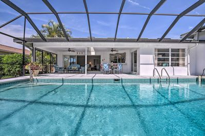 Book your next Naples getaway to this beautiful bayfront Naples residence!