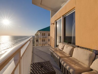 Photo for Gulf-front Penthouse - On-Site Waterpark!