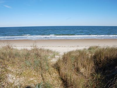 Photo for Rustic Beach Front Apartment - Cozy and right on the beach - 2 BR 2 Bath apt.