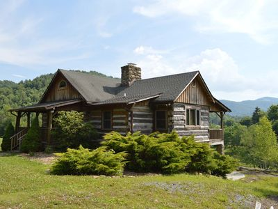 Photo for The Hiding Place - Peaceful Valle Crucis Cabin with Firepit, Mountain Views, Quiet Setting