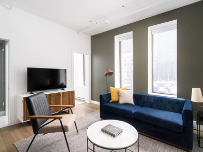 Photo for Sonder | Place d'Armes | Ideal 1BR + Sleeper Sofa