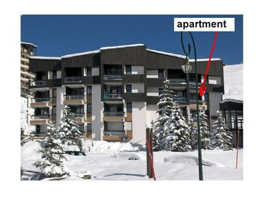 Photo for Apartment for 6 right on the slopes (2nd apartment - same owner see 8995453)