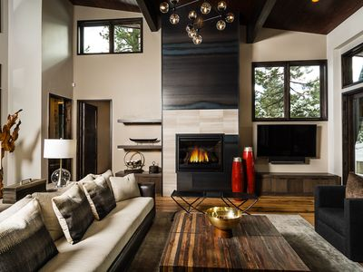 Photo for Mountain Modern - This 4 BR Contemporary Home WILL Impress - Hot Tub Too