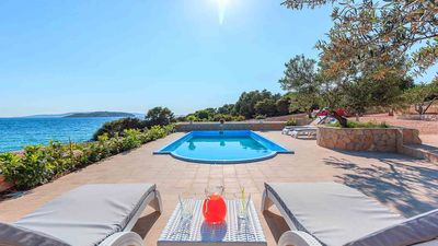 Photo for Beachside Villa Serenity with pool for 8 persons EOS-CROATIA