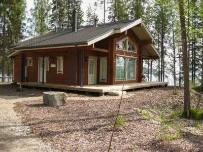 Photo for Vacation home Amero purnu 2 in Lieksa - 8 persons, 2 bedrooms