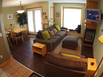 Photo for Ground floor 1 bedroom condo with access to ski trails