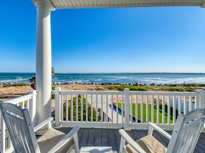 Photo for Oceanfront Pirate's Paradise w/Pool, Balconies & Ocean View - Walk Everywhere